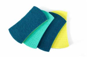 Stretch Counter Scrubbers Set/4