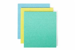 Squeeze Cellulose Sponge Cloths Set/3