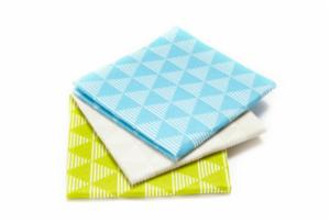 Pulp Friction Dusting Cloths Set/3 - Geo design