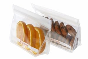Ziptuck Reusable Snack Bags - Clear Set/2