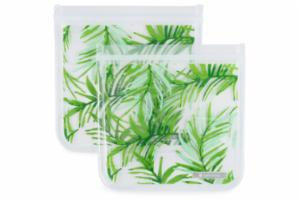 Ziptuck Reusable Sandwich Bags - Palm Set/2